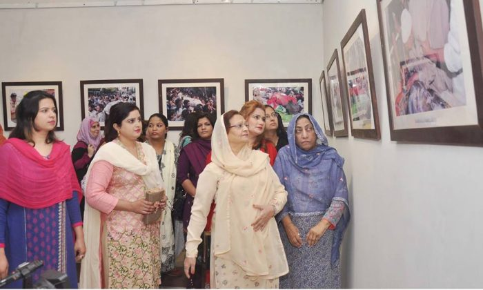 In connection with Kashmir Black Day, a Photographs Exhibition based on Indian atrocity of innocent people of occupied Kashmir was arranged by Rawalpindi Arts Council on 25th October 2017. Mrs. Tahira Auragzeb was the Chief Guest.