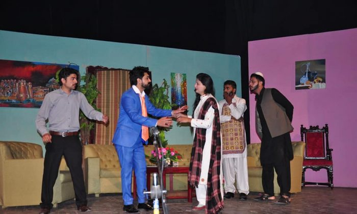 A tribute to the Shohda-e- APS at Rawalpindi Arts Council. Ms Wajiha Akram Member National Assembly parlimentary Secretary for Education was the chief guest.