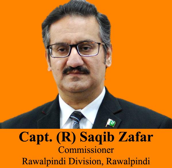 Capt. (R) Saqib Zafar Commissioner Rawalpindi Division